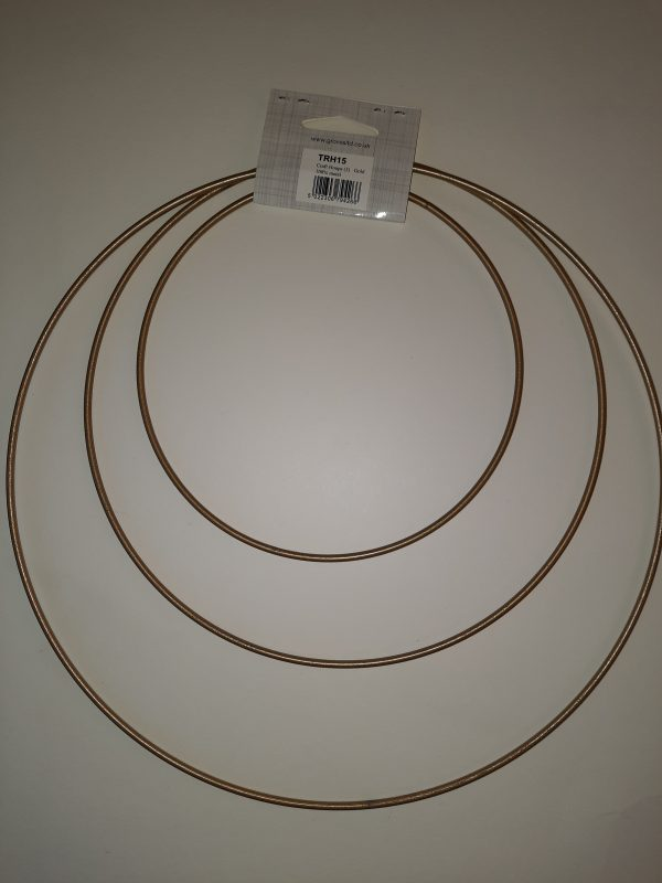 metal hoops gold mayflowermakes